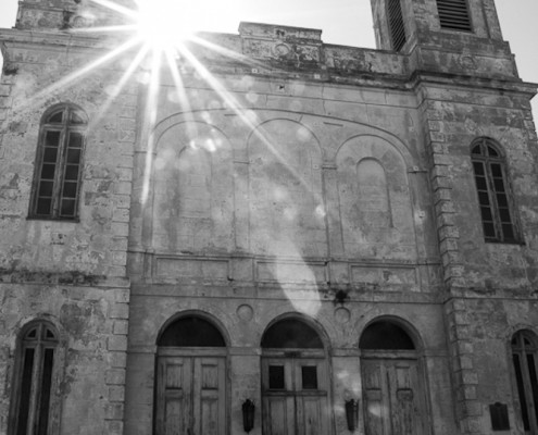 Marigny Opera House front facade with sunburst-2