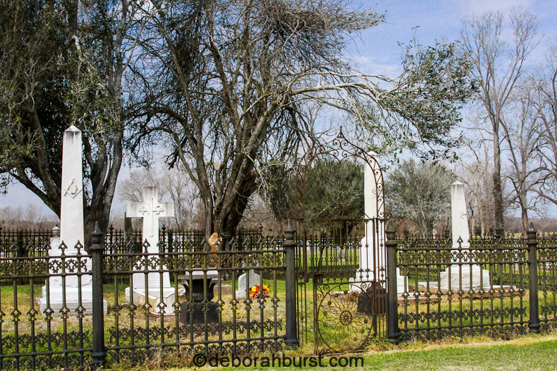 St Stephens graveyard on River Road in Point Coupee Parish watermark
